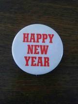 Vintage HAPPY NEW YEAR Pin Pinback - $6.00