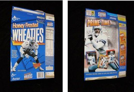 Cereal Box Empty Flat Deion Sanders NFL Football Wheaties - $19.99