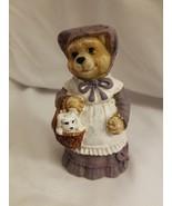 Resin Teddy Bear - Teddy Couple w Box - $3.91