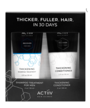 ACTiiV Hair Science Men's Recover Cleansing Treatment, Thickening Conditioner