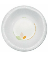 NEW Solo Paper Bowls 500 Count Green/Tan Compostable 12oz - $75.90