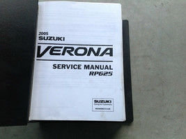 2005 Suzuki Verona Service Shop Reparatur Werkstatt Manuell RP625 Autohaus - $59.35