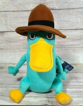 Phineas And Ferb Plush Perry The Platypus Stuffed Animal Pillow Disney Northwest - $24.24