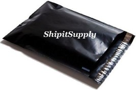 2.5 Mil 1-1000 12x15.5  ( Black ) Color Poly Mailers Shipping Boutique B... - $0.98+