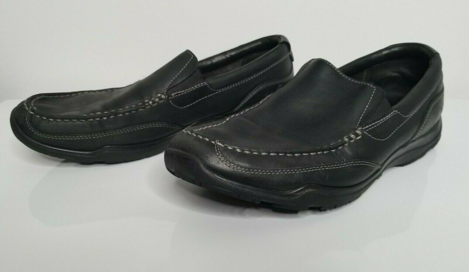 Primary image for Cole Haan Mens Hughes Grand Slip on Shoes Loafer Black Leather Size 12M C20243