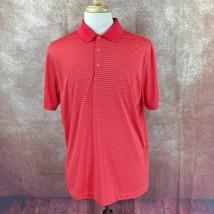 Nike Golf Men's Tour Performance Country Oaks Golf Club Red Polo Shirt L... - $22.61