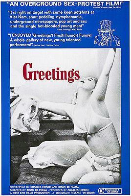 Primary image for Greetings - 1968 - Movie Poster