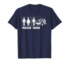 Special shirts - Problem Solved Truck Driver Shirt Trucker Gift Men - $19.95+