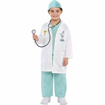 Amscan 841178 Boys Doctor Costume - Toddler (3-4), Multicolor - $35.28