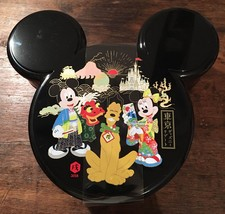 Tokyo Disney Resort Limited Donald Mickey Lunch Case Confection Assortment Box - $78.21