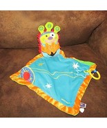 Manhattan Baby toy company plush Whoozit security blanket crinkle monste... - $9.89