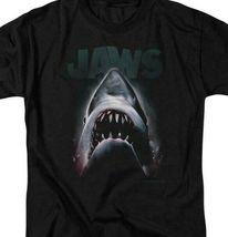JAWS retro 70's 80's shark thriller Spielberg movie graphic t-shirt UNI352 image 3