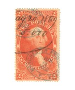 1862-71 R82C $2.00 Mortgage Revenue Stamp with Manchester Print Works Ca... - $16.00