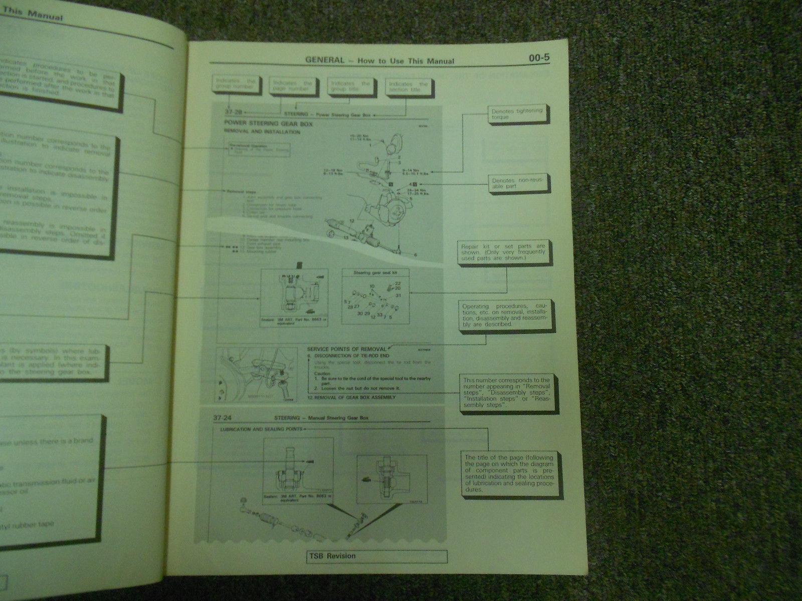 1992 MITSUBISHI Mirage Service Repair Shop Manual Volume 1 Chassis Body OEM 92