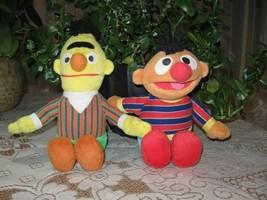 Lot of 2 Sesame Street Dolls BERT & ERNIE Fisher Price - $57.83