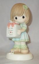 All The Reasons I Love Mom Precious Moments Girl Jar Figurine NWOB Famil... - $37.61