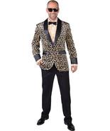 Teddy Boy / Rockabilly / Showman JACKET - Leopard Print , XS - XXL  - $49.32+
