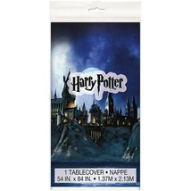 Harry Potter Hogwarts House Plastic Table Cover 1 Count Birthday Party S... - $5.89