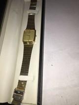 Classic Citizen Seven Men's Quartz watch Vintage 1984 Gold Tone square f... - $87.88