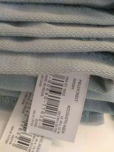 Spa Solid Washcloth Acoustic Aqua - Fieldcrest -13'' x 13''-100% cotton-NEW !  image 3