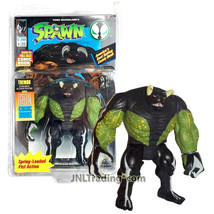 Year 1994 McFarlane Toys Spawn Series 5 Inch Tall Figure - TREMOR with Spring Lo - $34.99