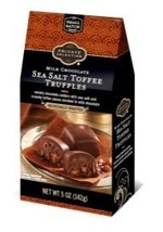 Private Selection Milk Chocolate Sea Salt Toffee Truffle 5oz, pack of 1 - $15.68