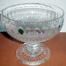 "Waterford Crystal Colleen Footed Centerpiece Bowl 9"" #146526 New - $549.90"