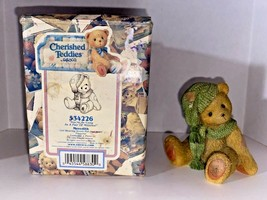 """Cherished Teddies Meredith """"You're As Cozy As A Pair Of Mittens"""" Figurine - $19.99"""