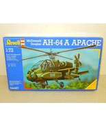 REVELL MODEL KIT- 04487 MCDONNELL DOUGLAS AH-16 APACHE- 1:72- NEW- W53 - $10.54