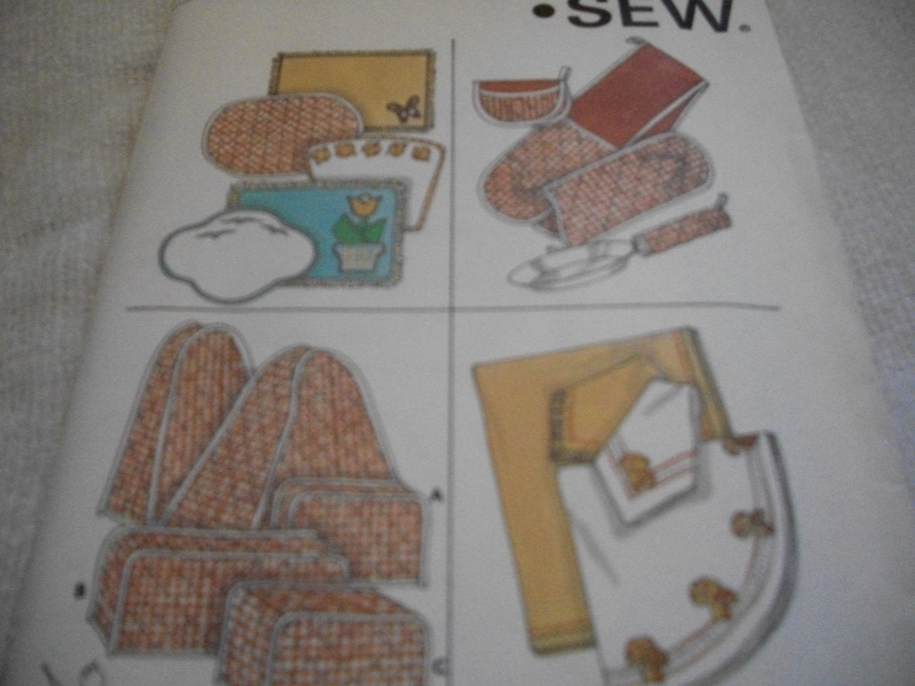 Primary image for Kitchen Accessories Pattern Kwik Sew 832
