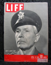 Life Magazine April 13, 1942 Army's Supply Chief - $9.99