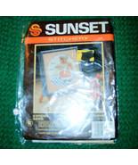 Sunset Stitchery, Kiss The Cook Teddy Kit No 270 X-Stitch - $2.75