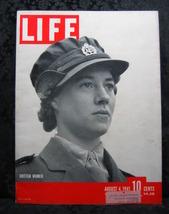 Life Magazine August 4, 1941 British Women at War - $9.99