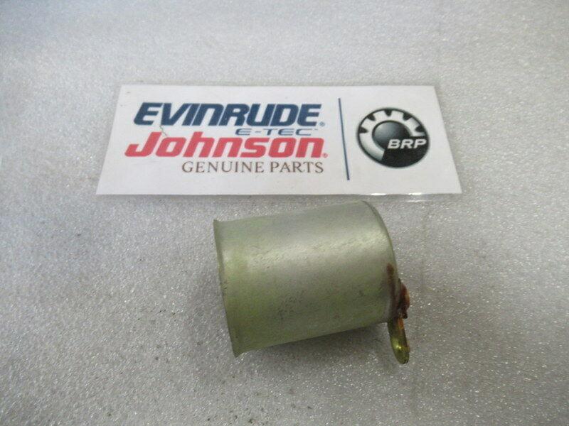 E45 Johnson Evinrude OMC 385554 Choke Solenoid OEM New Factory Boat Parts - $116.73