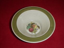 Metlox Poppytrail California Cereal Bowl Apple Grape Pottery (#2) - $28.04