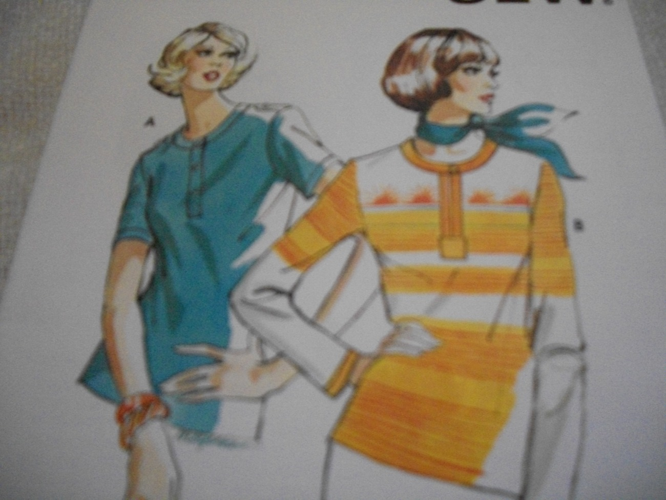 Primary image for Misses' Ribbing Tops Pattern Kwik Sew 692