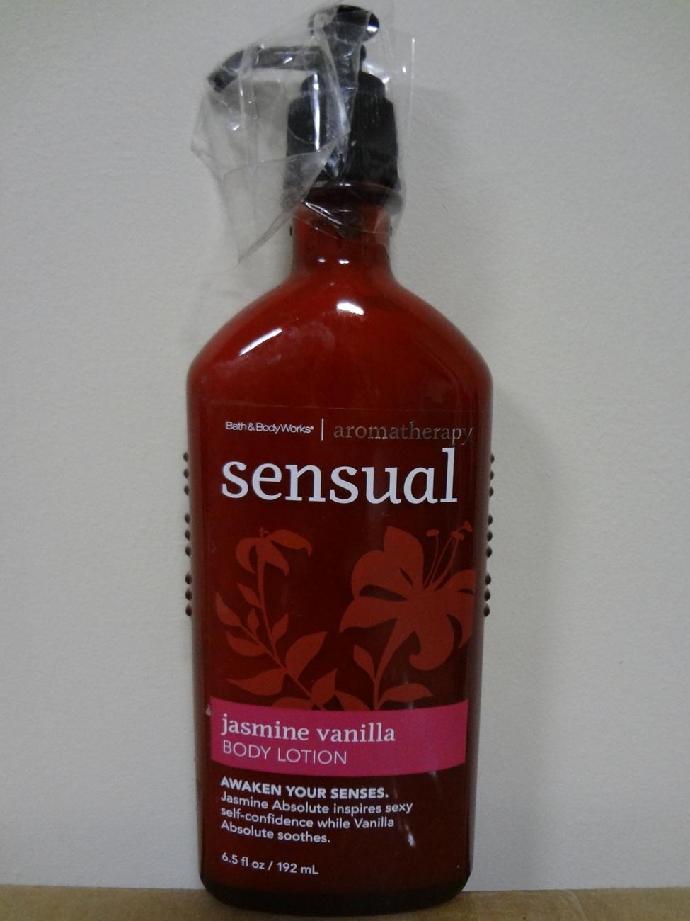 Bath Amp Body Works Aromatherapy Sensual Jasmine Vanilla