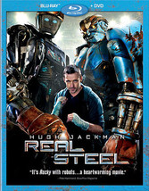 Real Steel (Blu-Ray/DVD/2 Disc/Ws-2.35/Eng-Fr-Sp Sub)