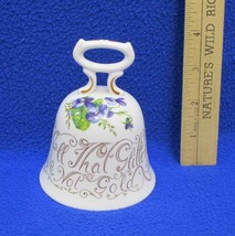 Crown Staffordshire Hand Bell Proverbs Series  All That Glitters Is Not ... - $9.89