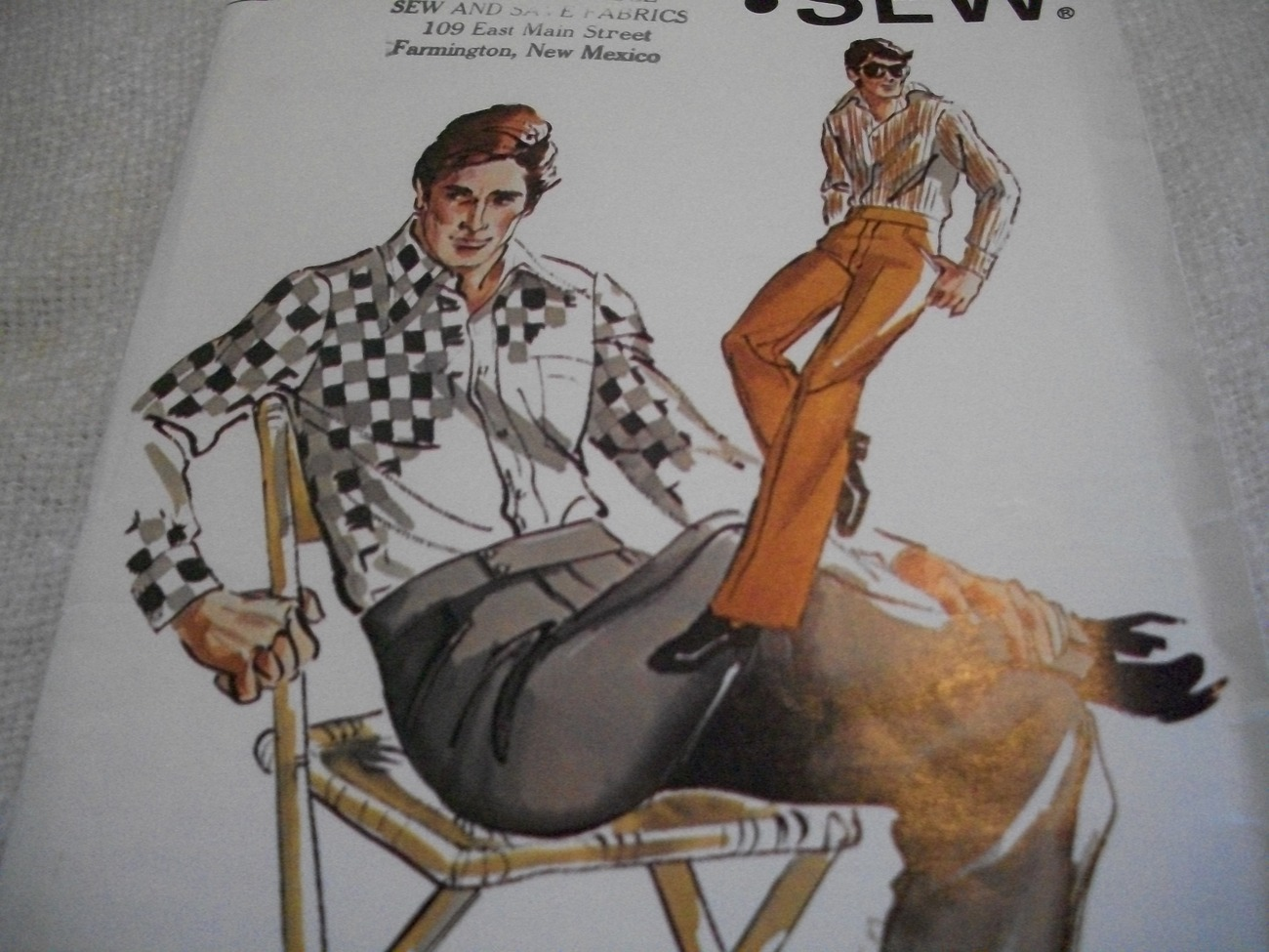 Primary image for Man's Pants Pattern Kwik Sew 633