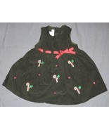 Green 3T Holiday Jumper Dress - Candy Canes - C... - $7.50