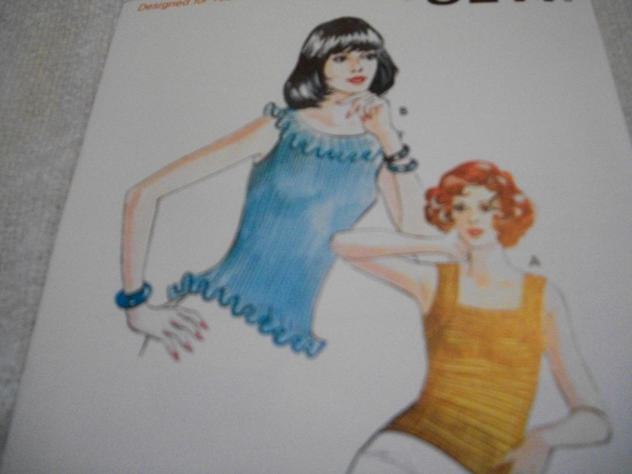 Primary image for Misses' Sleeveless Ribbing Tops Pattern Kwik Sew 608