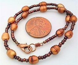 Copper Freshwater Pearl Bracelet - $16.50
