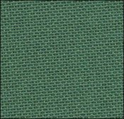 Primary image for 28ct Dark Green Lugana 13x18 1/8yd evenweave cross stitch fabric