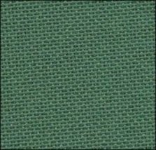 28ct Dark Green Lugana 13x18 1/8yd evenweave cross stitch fabric  - $5.65