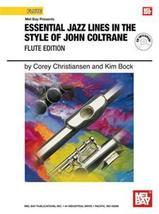 Essential Jazz Lines In The Style of John Coltrane/Book/CD Set  - $17.95