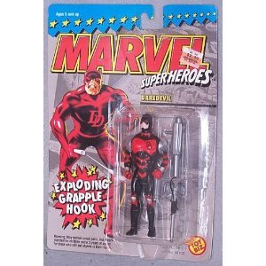 Marvel Super Heroes Daredevil with Exploding Grapple Hook