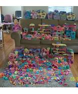 Huge Littlest Pet Shop Pets, Playhouses, Accessories Galore, Games, Rares! - $2,900.00