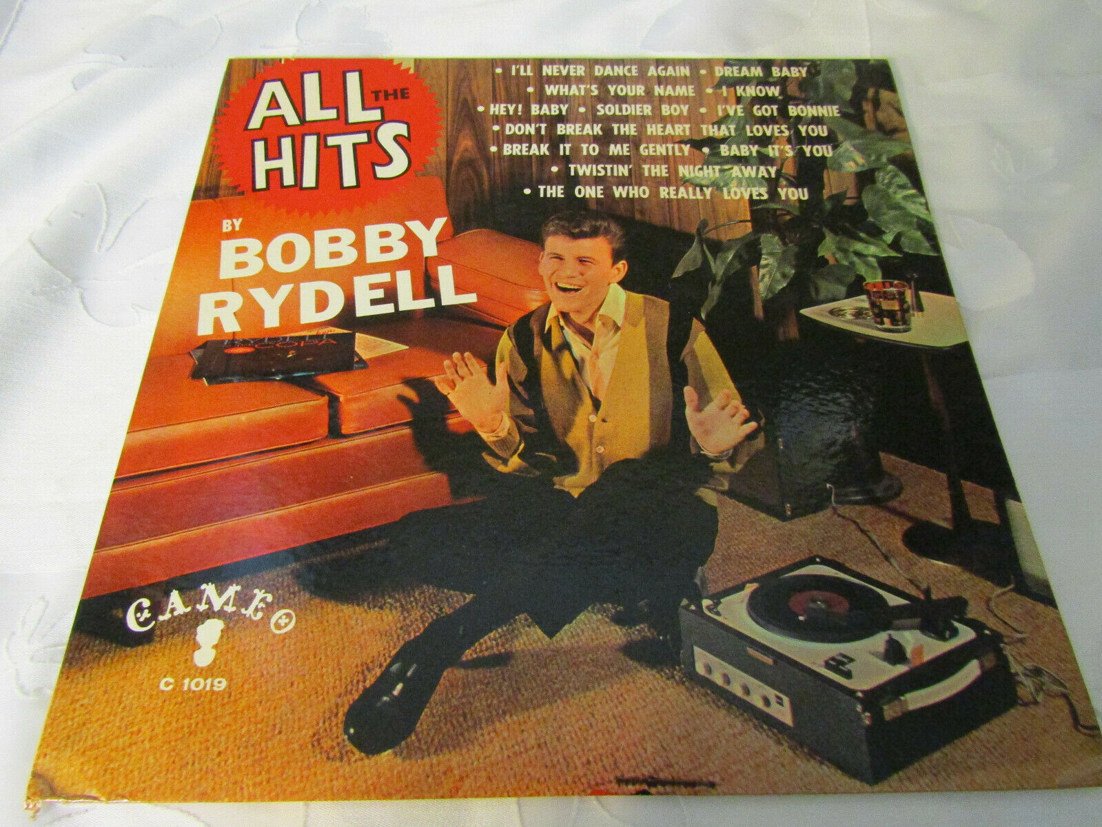 Bobby Rydell All The Hits Cameo C1019 Mono Vinyl Record LP Album