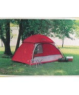 Wenzel Red 4 person Sage Brush II Dome tent Mod... - $79.99